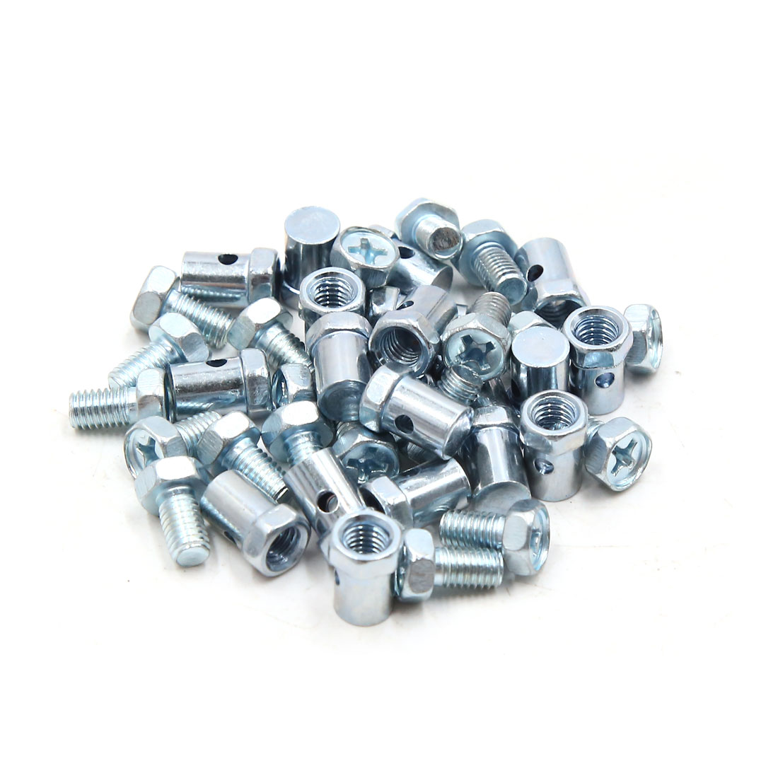 20pcs 5mm Thread Motorcycle Scooter Brake Cable Wire Solderless Nipple Screws