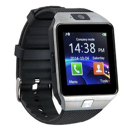 DZ09 Bluetooth Smart Wrist Watch With Health Monitoring Calls Texts For Android and iPhone -
