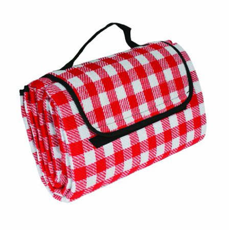 Camco 42801 Picnic Blanket Red White Checkered](Red And White Picnic Blanket)