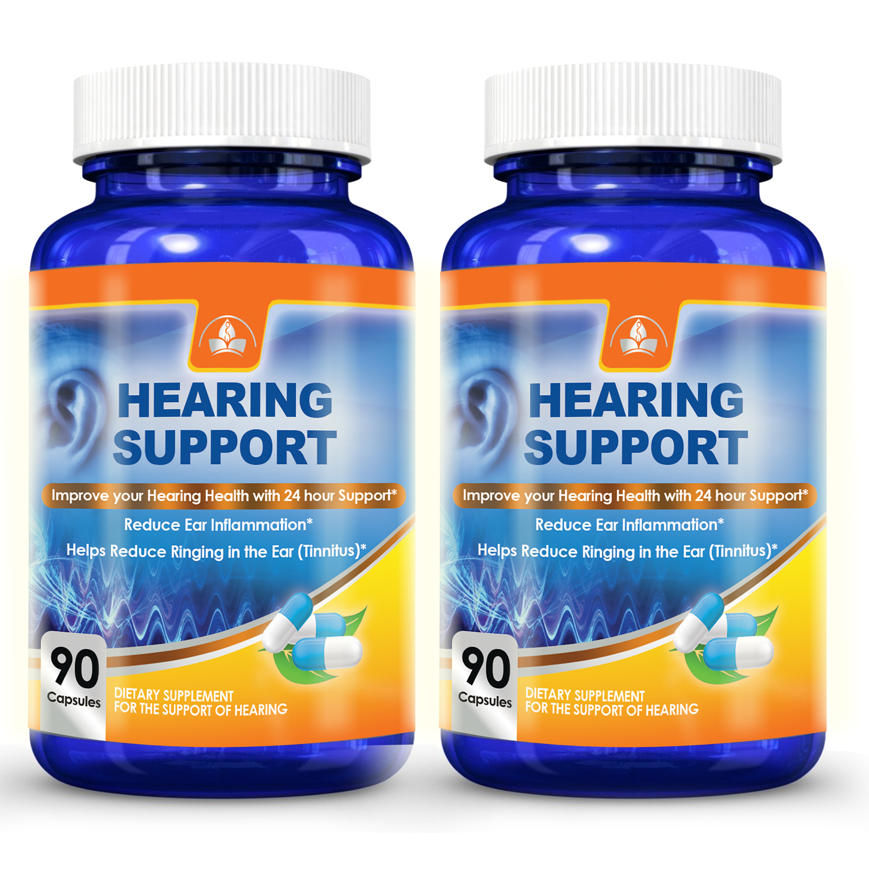 Totally Products Advanced Hearing Support  (180 capsules)