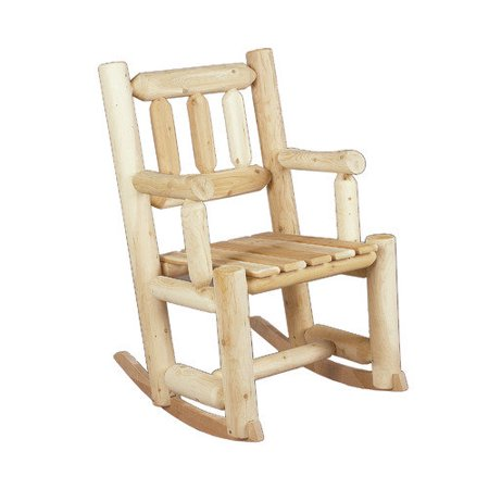 Rustic Natural Cedar Furniture Indoor Outdoor Cedar Rocking Chair