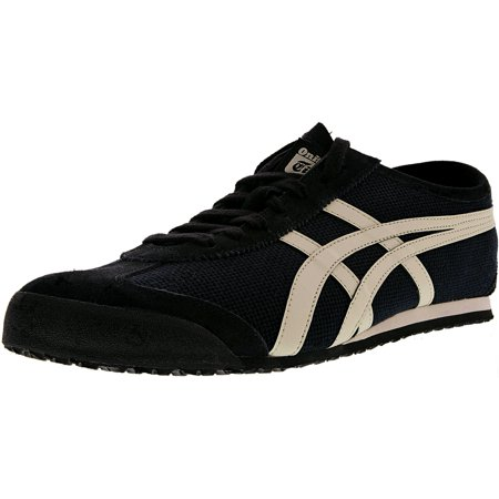 new style e7452 00f62 Onitsuka Tiger Men's Mexico 66 Black/Off-White Ankle-High Fashion Sneaker -  12.5M