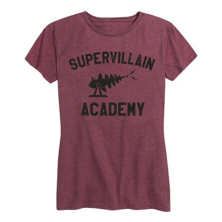 Supervillain Academy  - Ladies Short Sleeve Classic Fit Tee](Supervillain Women)
