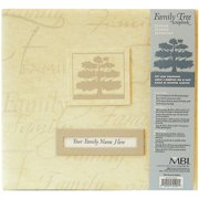 "Family Tree Post Bound Album 12""x12""-kha"