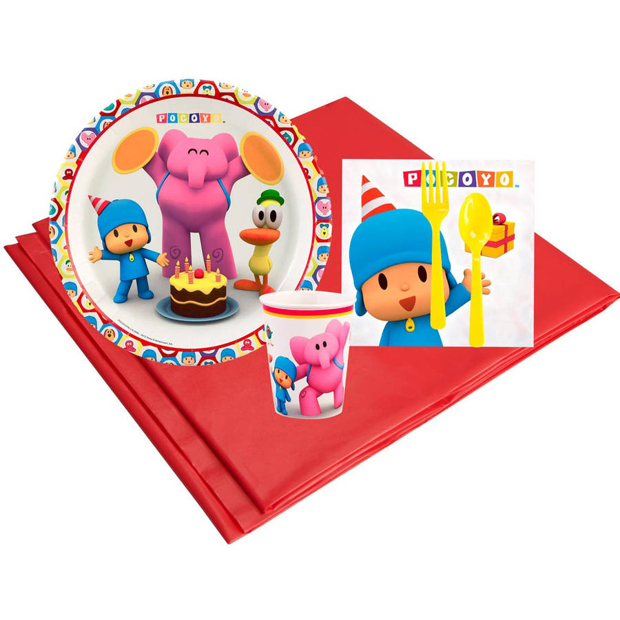 Pocoyo 8-Guest Party Pack