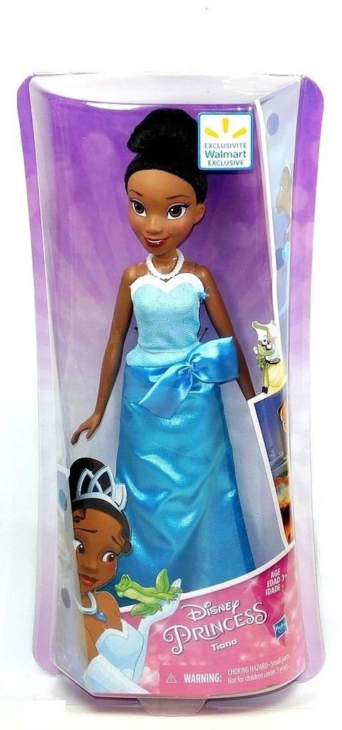 Disney Princess, Royal Shimmer, Tiana Exclusive Doll [Blue Dress] By Hasbro by