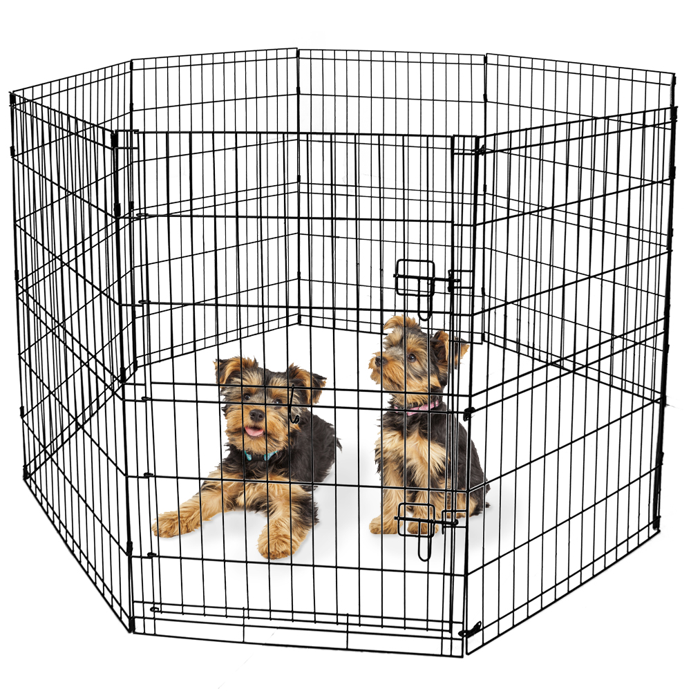 Vibrant Life Indoor & Outdoor Pet Playpen, Large, 36""
