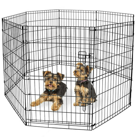 Vibrant Life Indoor & Outdoor Pet Playpen, Large, 36