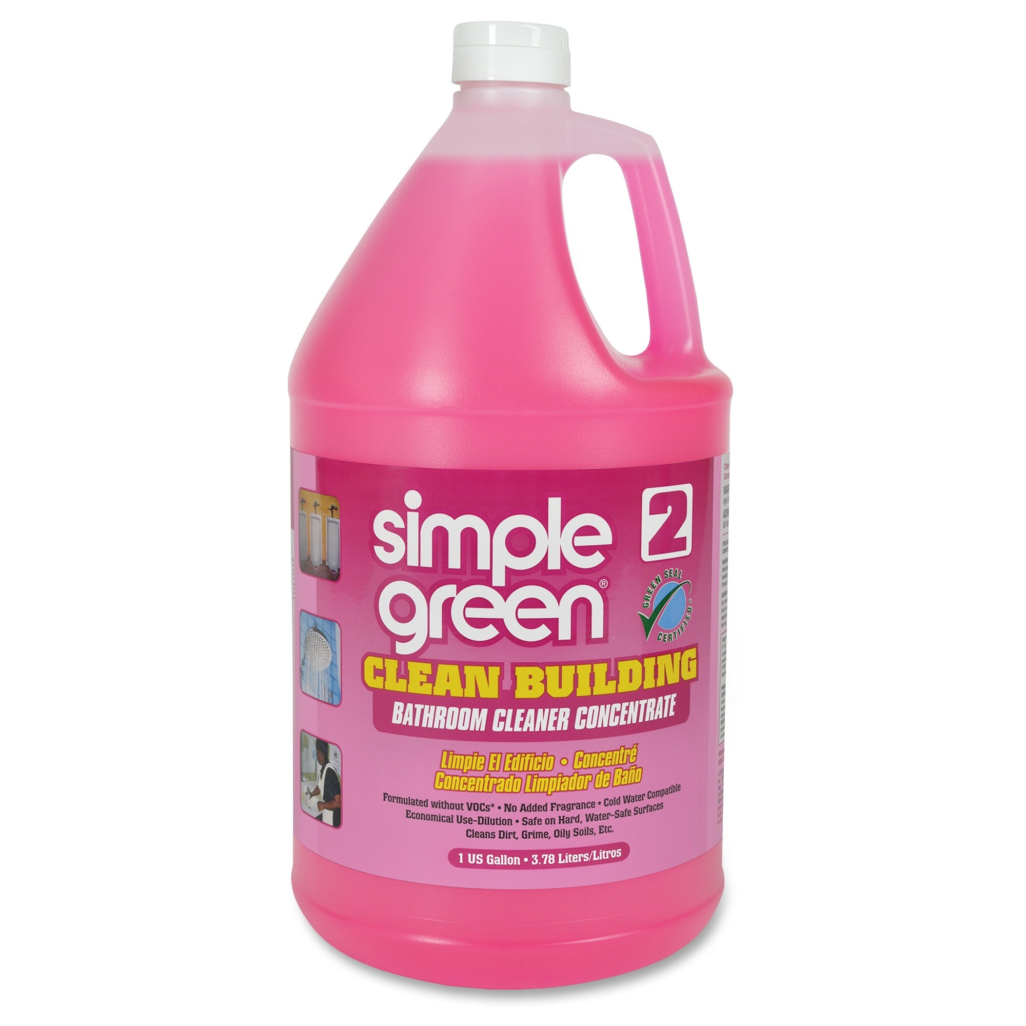 Simple Green Clean Building Bathroom Cleaner Pink Each Quantity - Bathroom cleanser