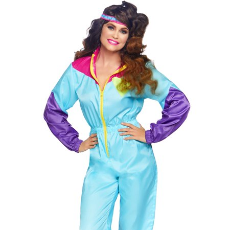 Awesome Halloween Costumes For Cheap (Leg Avenue Women's 2 PC Awesome 80s Ski Suit)