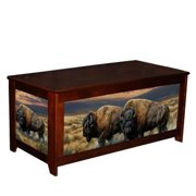 Kelsey's Collection 502MIL69160 Lodge Box Dusty Plains
