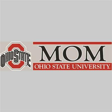 Ohio State Buckeyes Die Cut Decal Strip - -