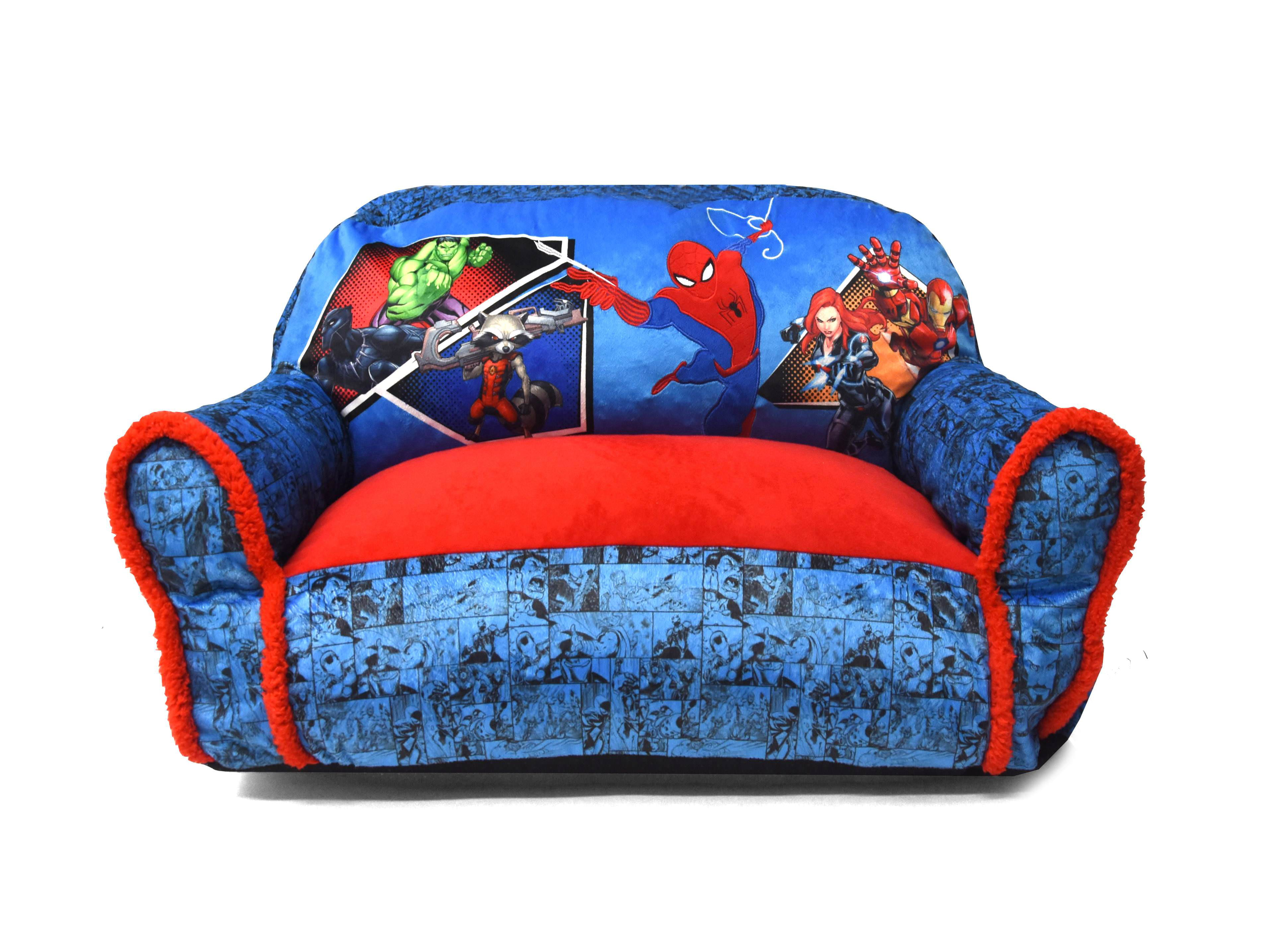 Superb Marvel Spider Man Bean Bag Sofa Chair Walmart Com Gmtry Best Dining Table And Chair Ideas Images Gmtryco