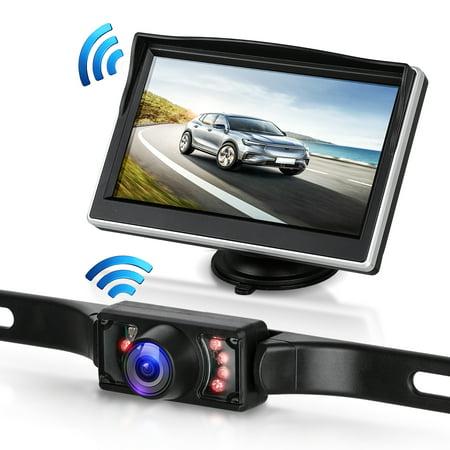Digital Wireless Backup Camera & 5