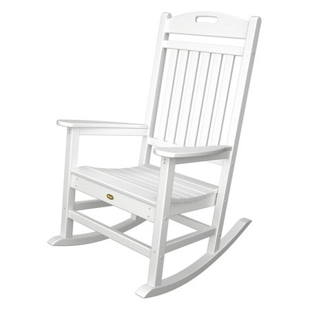 This button opens a dialog that displays additional images for this product  with the option to zoom in or out. - Trex Outdoor Furniture Recycled Plastic Yacht Club Rocking Chair