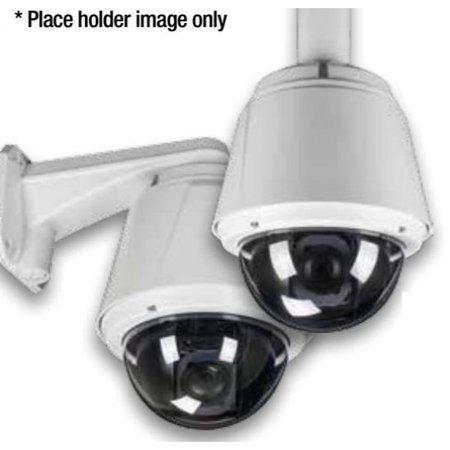 Eyemax HD-TVI In/Outdoor High Speed PTZ CCTV Security Camera X10 Optical X12 Digital Zoom ICR, Heat and Blower, Dual Power (Wall Mount)