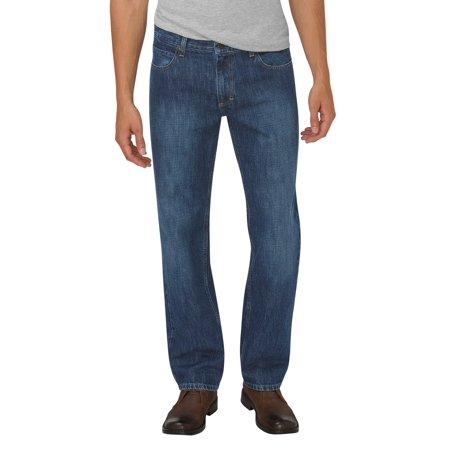 Dickies Mens Relaxed Fit Straight Leg 5-Pocket Denim Jean - Walmart.com 8cea8218b3