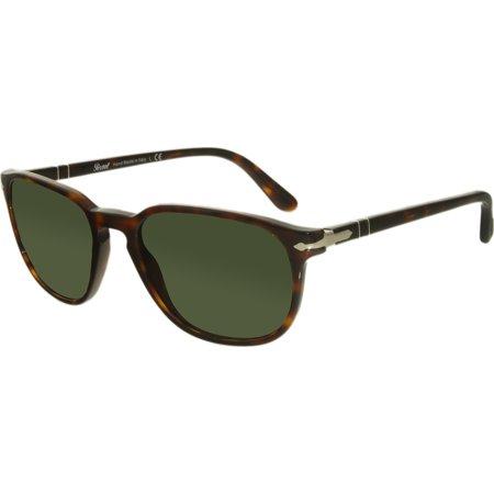 Persol PO3019S-24/31-52 Brown Square Sunglasses