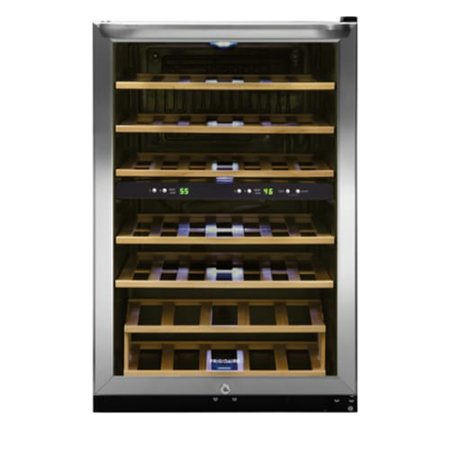 "Frigidaire FFWC3822Q Stainless Steel 22"" Wide 38 Bottle Wine Cooler"