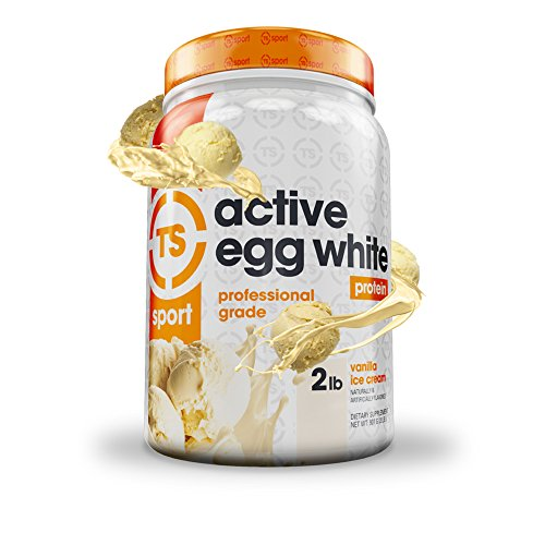 Top Secret Nutrition Active Egg White Protein (2 lbs) Vanilla