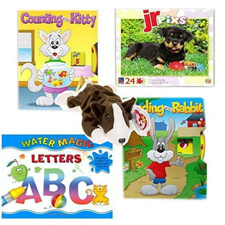 Books & Puzzle Preschoolers Gift Bundle Ages 2+ [5 - Puzzles For Preschoolers