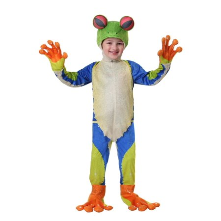 Toddler Realistic Tree Frog Costume