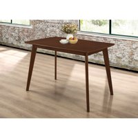 Dining Table with Angled Legs Chestnut
