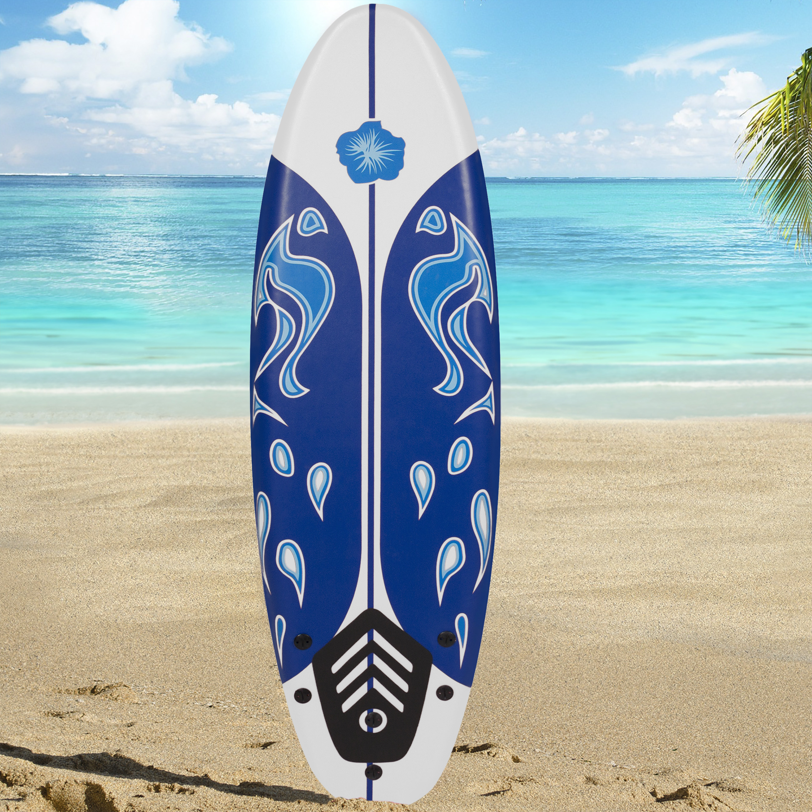Surfboard 6' Foamie Board Surfboards Surfing Surf Beach Ocean Body Boarding New