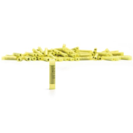 Camco 63504 Yellow 12-10-Gauge Nylon Insulated Butt Connector, (Camry Gauge)