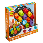 ALEX Discover Tots First Chunky Pegs