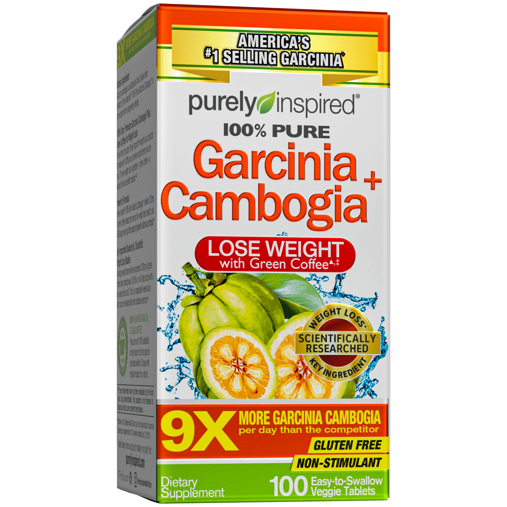 Purely Inspired 100% Garcinia Cambogia Weight Loss ...