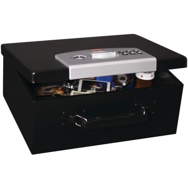 0.27 Cubic-ft Digital Locking Steel Security Box