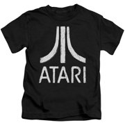 Atari - Rough Logo - Juvenile Short Sleeve Shirt - 5/6