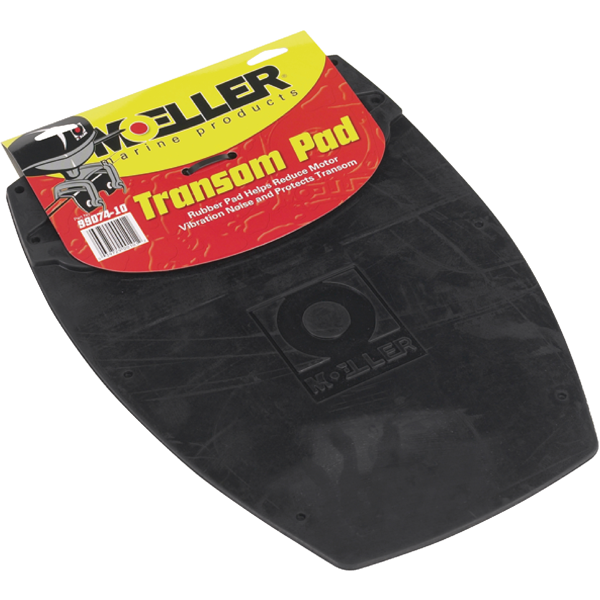Moeller Transom Pad Fits Most Outboards Up to 25 HP