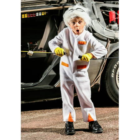 Back to the Future Toddler Doc Brown Costume - Doc Brown Cosplay