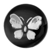 NUGZ Jewelry 94085 Charm - Nugz Snap On - Butterfly Enamel