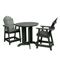 highwood® Eco-Friendly Hamilton 3pc Round Counter Dining Set