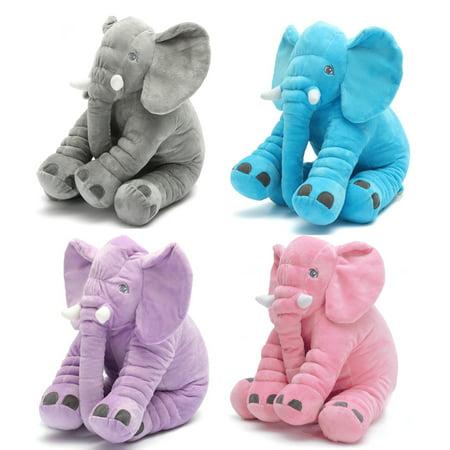 Stuffed Animal Pillow Elephant Children Soft Plush Home Decor Doll Toy Baby Kids Sleeping Toys Birthday Christmas Gift](Pink Monkey Stuffed Animal)