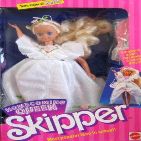 Teen Sister of Barbie Homecoming Queen SKIPPER Doll, Most Popular Teen in School! (1988) ()