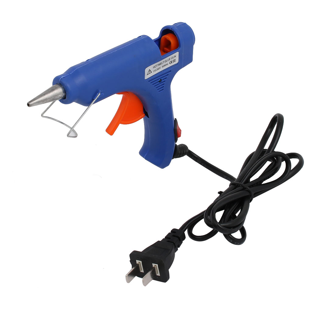 Unique Bargains AC110V-240V 20W Electric Heating Hot Melt Glue  US Plug Repair Tool Blue