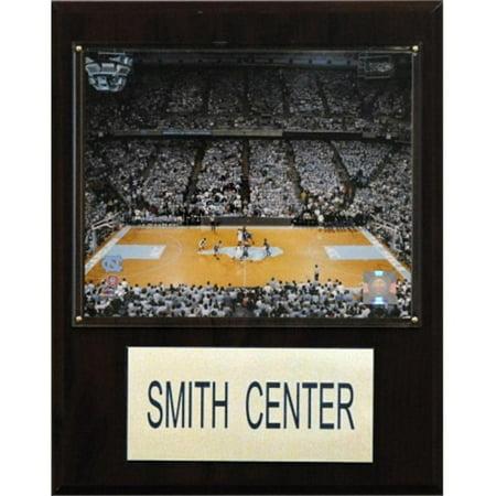 Ncaa Center - C&I Collectables NCAA Basketball 12x15 Smith Center Arena Plaque