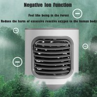 Summer Fan Bluelans Home Portable Mini USB LED Air Conditioner Humidifier Cooler Anion Cooling Fan