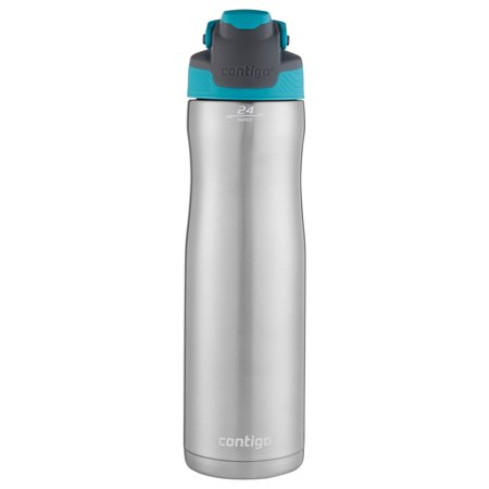 Contigo AUTOSEAL Chill Vacuum-Insulated Stainless Steel Water Bottle, 24 oz., SS - Sports Bottles In Bulk