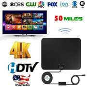Best Coaxial Cable For Tv Antennas - 1byone Indoor TV Antenna 60 Miles Amplified HDTV Review