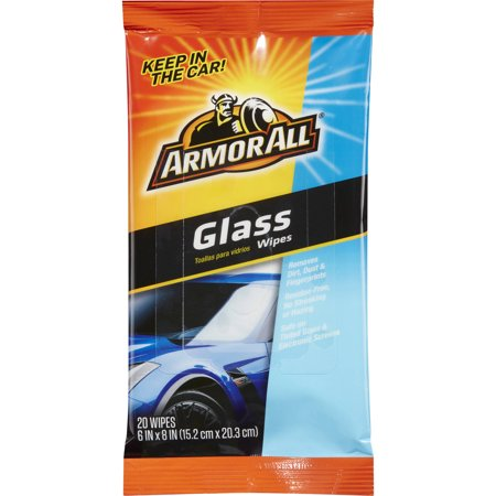 Armor All Glass Wipes Flat Packs, 20 ct, Car (Best Car Glass Wipes)