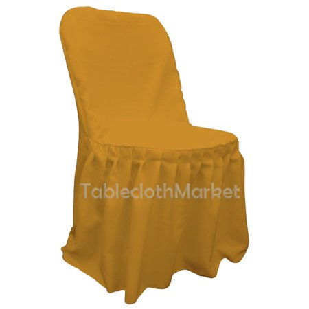 Peachy Chair Covers Pleated Polyester Wedding Party Decorations Folding Chair 24 Colors Color Gold Count 5 Creativecarmelina Interior Chair Design Creativecarmelinacom