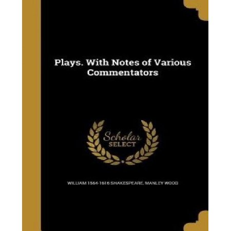 Plays. with Notes of Various Commentators - image 1 of 1