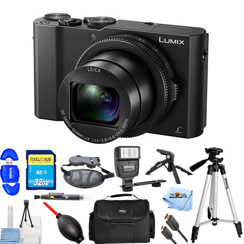 Panasonic Lumix DMC-LX10 20.1MP Digital Camera PRO BUNDLE - image 1 de 1
