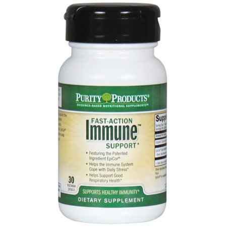 Fast Action Immune Support Formula Purity Products 30 Vcaps