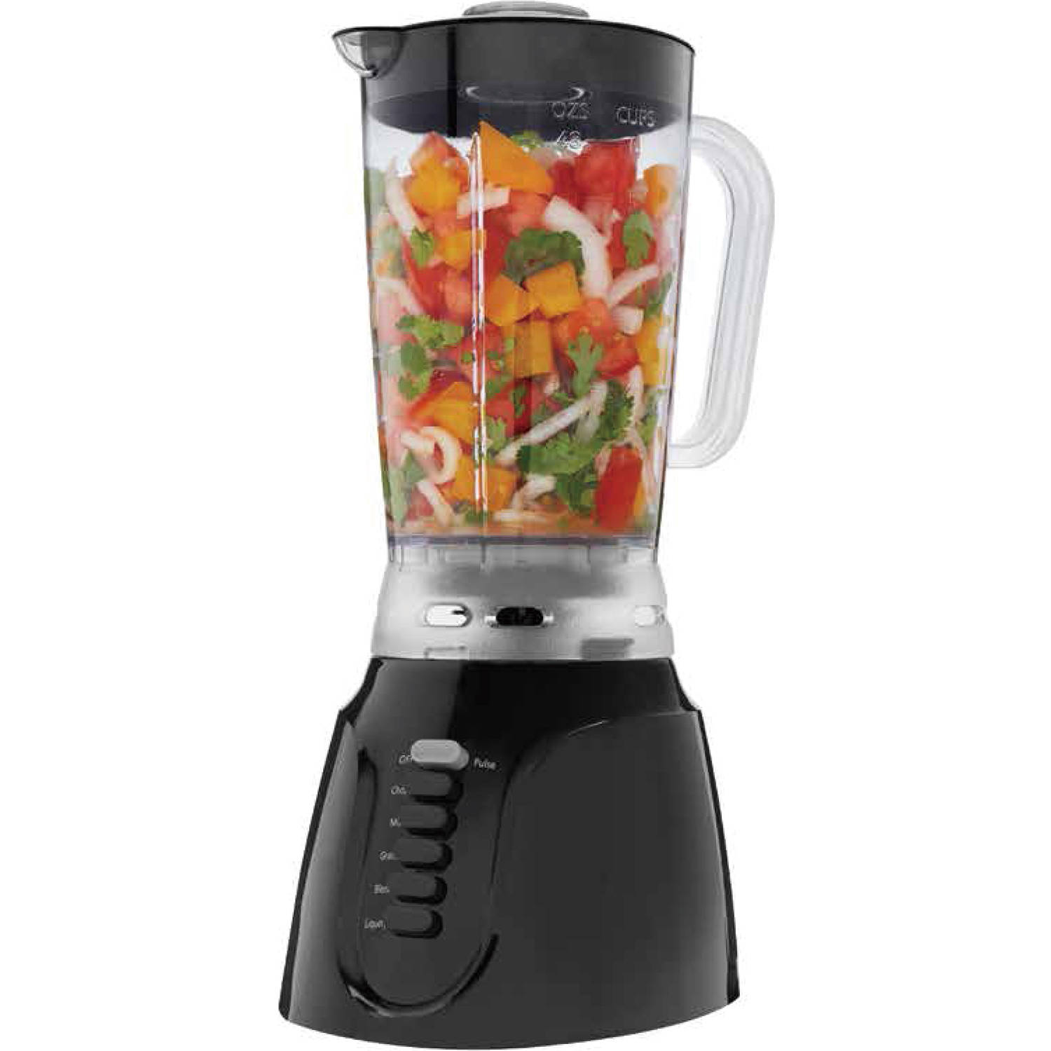 Mainstays 1.5L,6-Speed Blender, Black